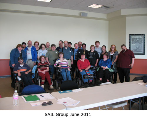 A picture of SAIL Members at the July 2011 Meeting