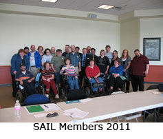 A picture of SAIL members